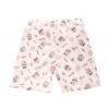 Dětské letní pyžamo s muffiny - detail kraťasů