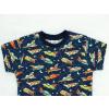 Dětské triko s krátkým rukávem Rakety detail1