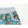 Letní softshellové kalhoty Zvířátka na petrolejové