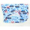 Dětské pyžamo bagry na stavbě modré detail zadního dílu2 kopie
