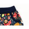 Dětské letní softshellové kalhoty zvířátka detail nohavice kopie