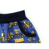 Letní softshellové kalhoty Stavební stroje detail kapsy kopie