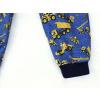 Letní softshellové kalhoty Stavební stroje detail nohavice kopie