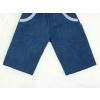 Dětské kraťasy bermudy jeans detail nohavice
