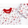 Dětská noční košilka s krátkým rukávem Berušky detail2