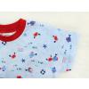 Dětské pyžamo s krátkým rukávem Pod hladinou detail rukávu