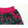 Dětské kraťasy růže a květy detail kapsy