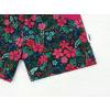 Dětské kraťasy růže a květy detail nohavice