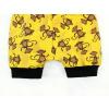 Dětské kraťasy pumpky opičky detail nohavic