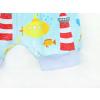 Dětské kraťasy pumpky maják detail nohavice