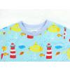 Dětské triko s krátkým rukávem Maják detail krku