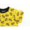 Dětské triko s krátkým rukávem opičky detail rukávu
