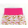 Dětské kraťasy pumpky lišky na růžové detail pasu