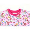 Dětské triko s krátkým rukávem srnky a kyičky detail krku