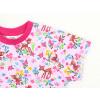 Dětské triko s krátkým rukávem srnky a kyičky detail rukávu