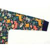 Dětské triko s dlouhým rukávem zvířátka detail rukávu
