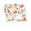 Dětská podzimní čepice podzimní zvířátka detail2