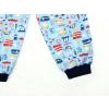 Dětské chlapecké pyžamo autíčka detail nohavice