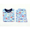 Dětské chlapecké pyžamo autíčka detail