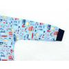 Dětské chlapecké pyžamo autíčka detail rukávu