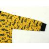 Dětské triko s dlouhým rukávem stavební stroje bagry detail rukávu