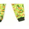 Dětské zimní softshellové kalhoty Lišky na hráškové detail nohavice