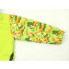 Dětská softshellová bunda lišky na hráškové detail rukávu
