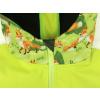 Dětská softshellová bunda lišky na hráškové detail garáže na zip