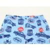 Dětské chlapecké pyžamo s dlouhým rukávem závodní auta na modré detail pasu