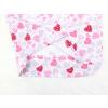Dětské dívčí pyžamo růžová srdíčka detail zadního dílu2