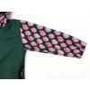 Dětská zateplená softshellová bunda jahůdky detail rukávu