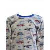 Dětské pyžamo Letadla - detail krku