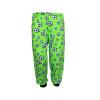 Dětské pyžamo Zelený fotbal - detail kalhot