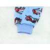 Dětské pyžamo hasiči na modré detail nohavice