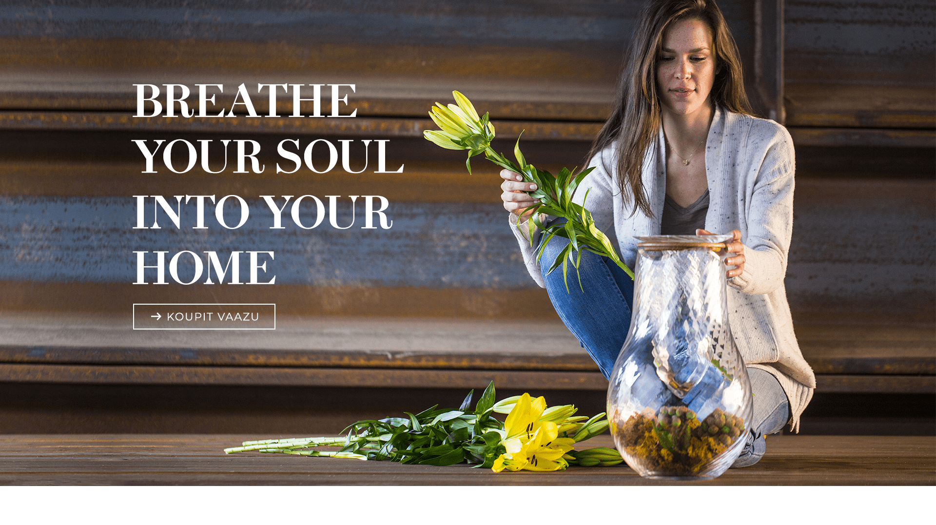 Breathe your soul into...