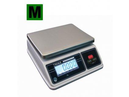 Voděodolná TSCALE SW 3-6kg/1-2g - cejchovaná