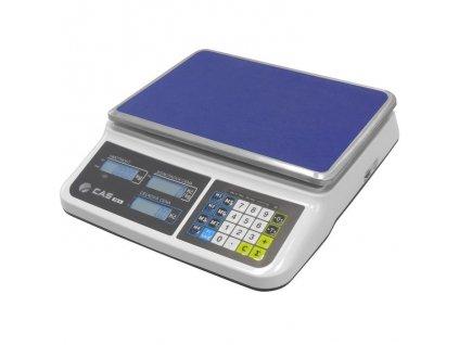 Obchodní váha CAS PR2 nízká do 3-6kg/1-2g - cejchovaná