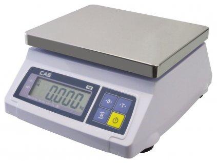 CAS SW-1S do 1-2kg/0,5-1g - cejchovaná