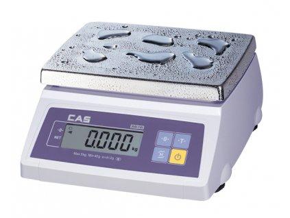 Voděodolná váha CAS SW 1W do 10-20kg/5-10g - cejchovaná