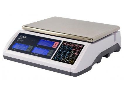 Obchodní váha CAS ER-PLUS 6-15kg/2-5g - cejchovaná