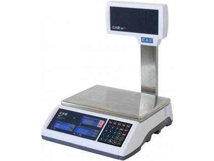 Obchodní váha CAS ER-PLUS L 15-30kg/5-10g - cejchovaná