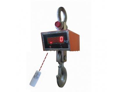 Jeřábová váha JEV do 30t/10kg - technologická