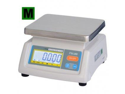 TSCALE T28-6D do 3-6kg/1-2g - cejchovaná