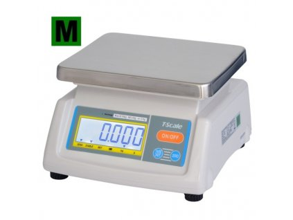 TSCALE T28-25D do 15-25kg/5-10g - cejchovaná