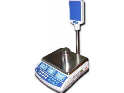 Obchodní TSCALE QSP 3-6kg/1-2g - cejchovaná