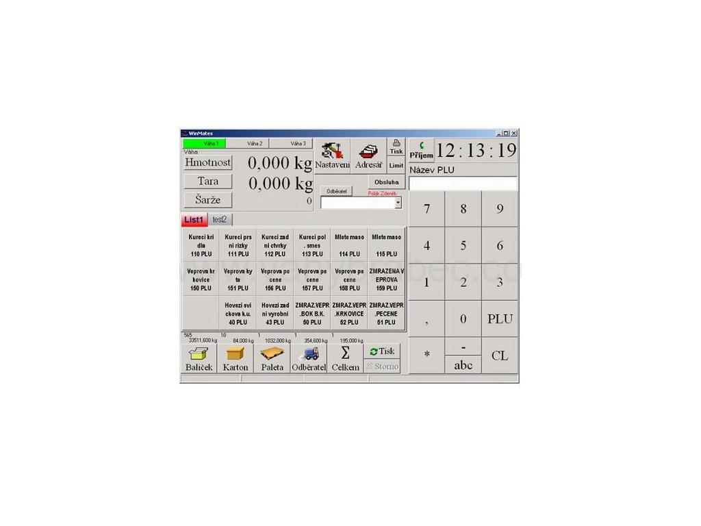 Etiketovací program WINMATES