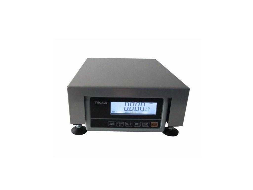 Lesak 1T2535LN - RWP/DR 250 x 350 mm (3 kg) stolní váha lak - nerez