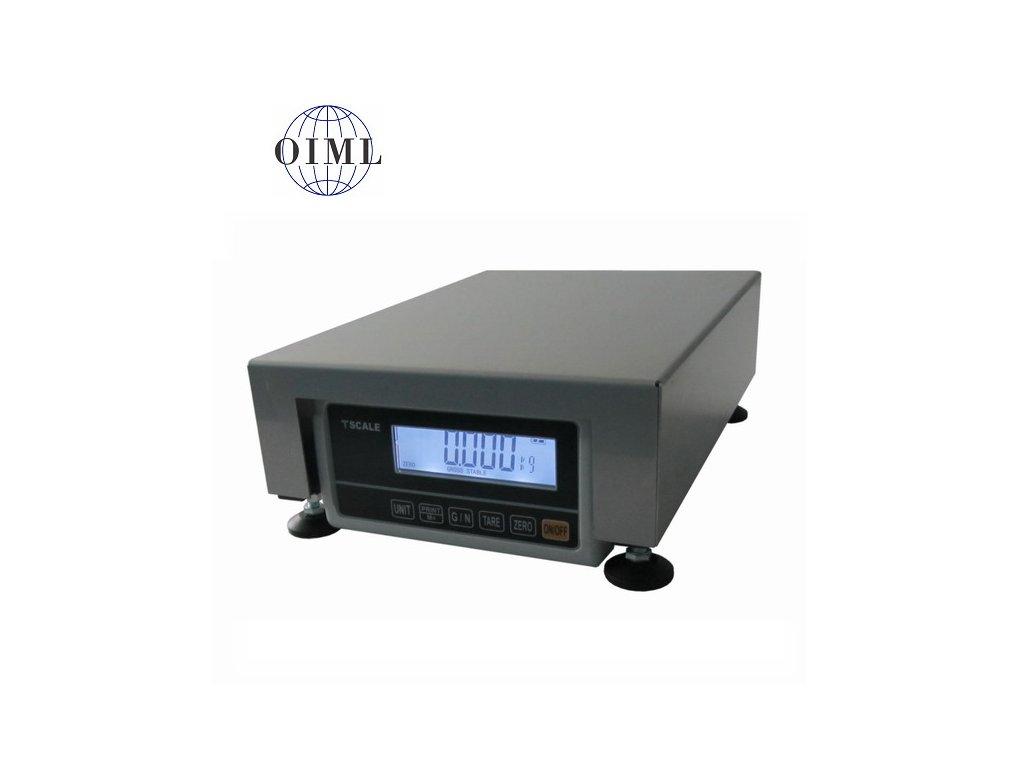 Lesak 1T2535LN - RWP/DR 250 x 350 mm, 6 kg / 2 g, stolní váha lak - nerez