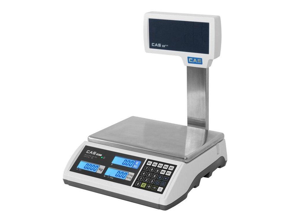 CAS ER PLUS, 30 kg / 10 g, 305 x 220 mm, obchodní váha s nožkou