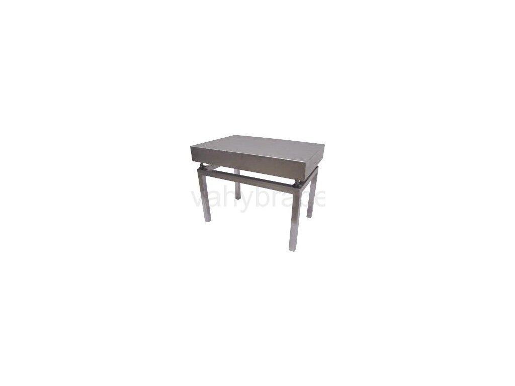 Nerezový stolek VS6060/600 pod váhy 1T6060